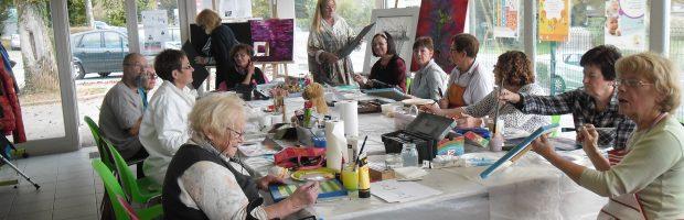 Atelier peinture CS AEL